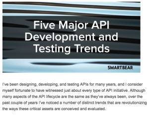 five api trends